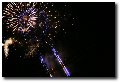 Feuerwerk in Bonn (I)