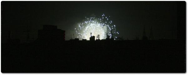 Feuerwerk in Cologne (I)